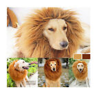 Pet Lion Costume Fancy Dress Up Outfit Halloween Clothes Mane Wig for Large Dogs