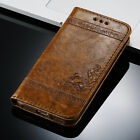 PU Leather Wallet Cards Holder Stand Case Cover For iPhone 4 5 6S 7 Plus SE Flip