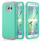 Slim 3in1 Hybrid Case with Soft Silicone & Hard Cover for Samsung Galaxy S6