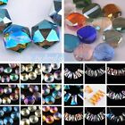 (250 Styles) Crystal Glass Assorted Shape Charms Loose Spacer Beads DIY Findings