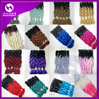 "Lot New 24"" Kanekalon Jumbo Braiding Synthetic Hair Extension Twist Braids 100g"