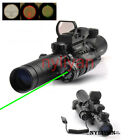 3-9X32EG Rifle Scope&1x22x33 Holographic Scope Reticle& Red Laser sight&Mount