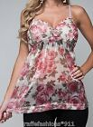 Beige/Pink Rose Beaded Lace Chic Chiffon Sleeveless/Cami Top