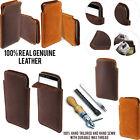 For LG G4c Mini Compact H525N Sleeve Genuine Real Leather POUCH Case Cover + Pen
