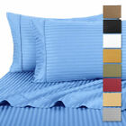 4 Piece: Hotel Life Deluxe 100% Cotton Sateen Bed Sheet Set by RC Collection