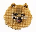 Adorable POMERANIAN Handmade Stitched Dog Magnet or Christmas Ornament