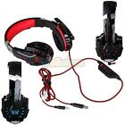 EACH G9000 Gaming Headset USB 3.5mm LED Stereo Headphone W Mic for PC New US