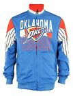 Zipway NBA Men's Oklahoma City Thunder Step Up Full Zip Athletic Jacket