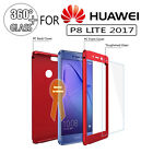 360° Full Protective Case Cover For Huawei Honor 9 4X 5X 6X 8 P9 P10 + Glass PP9