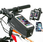 Waterproof Bike Bicycle Front Frame Pannier Tube Bag Pouch For iphone 6 6plus