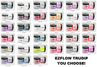 Ez Flow EZ TruDIP Dipping Powder Variations Colors of Your Choice 2oz/56g