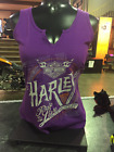 Harley-Davidson Women's Go With It Notched Tank with Dealer Name (5F36-HB3G)