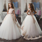 Flower Girl Dresses for Wedding Bridesmaids Prom BallGown Pageant Party Birthday