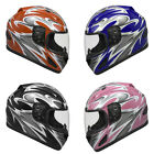 Raider Full Face Motorcycle Helmet Street Bike Helmet DOT Approved