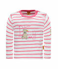 STEIFF Newborn Summer Colour Shirt hot pink gestreift Gr.56 - 86 NEU
