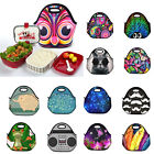 Lunch Bag Box Waterproof Cooler Neoprene insulation thermal Picnic Camping