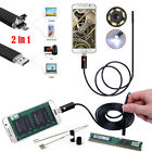 2in1 6 LED Android Endoscope Waterproof Inspection Camera Micro USB Video Camera
