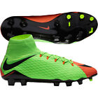 Nike Hypervenom Phatal III DF FG  2017 Flywire NikeSkin Soccer Shoes Cleat Green