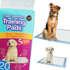 20-160 LARGE PUPPY TRAINING PADS TOILET PEE WEE ABSORBENT MATS PET DOG 60cmX45cm
