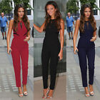 New Ladies Celebrity LACE Clubwear Playsuit Party Jumpsuit&Romper Long Trousers