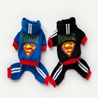 Pet Small Dog Cat Halloween Christmas Superman Hooded Jumpsuits Costume
