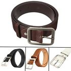 LUXURY Leather Belt Men's Casual Waistband Automatic Buckle Waist Strap Business