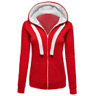 Fashion Womens Hooded Sweatshirt Pullover Casual Hoodie Jumper Sweater Coat Top