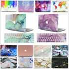 """Marble Silk Leather Rainbow Quicksand Matte Case for MacBook Air 11""""/11.6-inch"""
