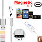 Magnetic Type-C USB Charger Cord Cable For Samsung Galaxy S8 Oneplus 3 Huawei P9