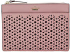 Kate Spade Clarise Crossbody Womens Leather Perforated Clutch Handbag