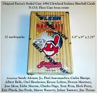 NOS Factory Sealed Box Fleer 1996 CLEVELAND INDIAN Team Player Multi-packs (32)
