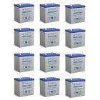 Power-Sonic 12 Pack - 12V 5AH SLA Battery Replacement for GE Security 60680