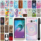 For Samsung Galaxy J3 J310/ J3 V/ Sky S320 Design HARD Back Case Cover + Pen