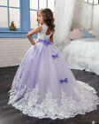 Newest Flower Girl Pageant Dress Formal Ball Gown Princess Party Prom Birthday