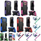 For Samsung Galaxy S6 / S6 Edge Vent Armor Case w/ Stand Holster+Stylus+Film
