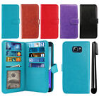 For Samsung Galaxy Note 5 N920 Flip Magnetic Card Holder Wallet Cover Case + Pen