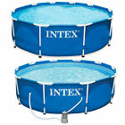 Intex 10ft x 30in Frame Swimming Pool supplied with OR without a Filter Pump