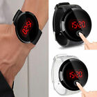 Fashion Men's Watch LED Digital Touch Screen Day Date Silicone Wrist Watch