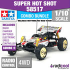COMBO DEAL! 58517 TAMIYA SUPER HOT SHOT 1/10th R/C KIT RADIO CONTROL 1/10 BUGGY