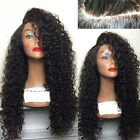 Africa Wave Curly Full Wigs Glueless Lace Front Wig With Baby Hair For Womens DD