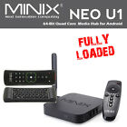 Minix Neo U1 SHOWBOX 16 SPMC QUAD CORE 4K Android 5 stream + A2 lite keyboard