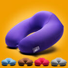 Memory Foam Large U Shape Travel Pillow Neck Support Head Rest Cushion Good
