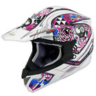 Scorpion EXO VX-34 Off-Road MX Helmet White Demented Graphic Adult Sizes