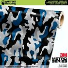 LARGE BLUE TIGER Camouflage Vinyl Car Wrap Camo Film Sheet Roll Adhesive