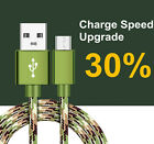 2A Fast Hi-speed charging Micro USB charger cable for Samsung S7 S6 Edge lot