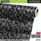 MINI MIDNIGHT Camouflage Vinyl Vehicle Car Wrap Camo Film Sheet Roll Adhesive