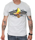 Harley-Davidson Looney Tunes Mens Speedy's Garage B&S Grey Short Sleeve T-Shirt