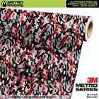 camouflage vehicle wrap - MINI RED TIGER Camouflage Vinyl Vehicle Car Wrap Camo Film Sheet Roll Adhesive
