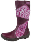 Buckle My Shoe Girls Leather Boots Knee High Riding Biker Boots Shoes Kids Size