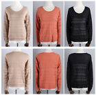 New  Spring clothes Women's Clothing Sweater Solid color Hollow  Bottoming Shirt